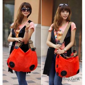 Orange Canvas Messenger Bags