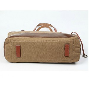 khaki retro shoulder bags