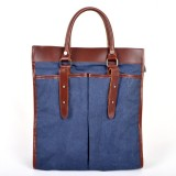 blue Casual canvas Messengers