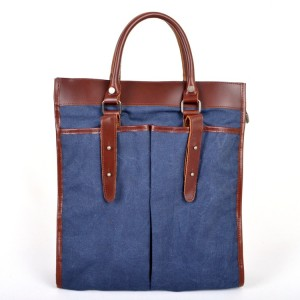 Real leather Shoulder bag, Casual canvas Messengers