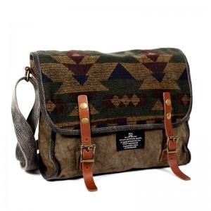 Popular Messenger Canvas Bags, High Quality Canvas Shoulder Bag