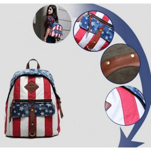 Girls Canvas Backpacks