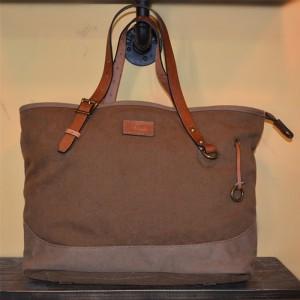 brown retro shoulder bags