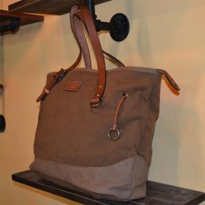 brown Heavy duty canvas bag