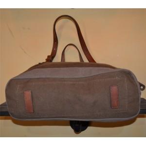 Heavy duty retro shoulder bags brown