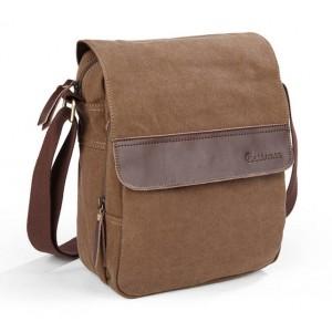 khaki vintage messenger bags