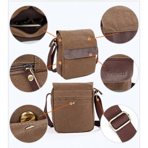 khaki messenger bags