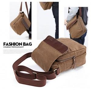vintage khaki bags