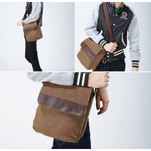 Leisure messenger khaki bag