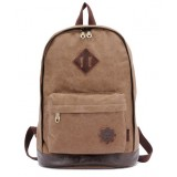 Canvas army knapsack, vintage canvas backpacks girls