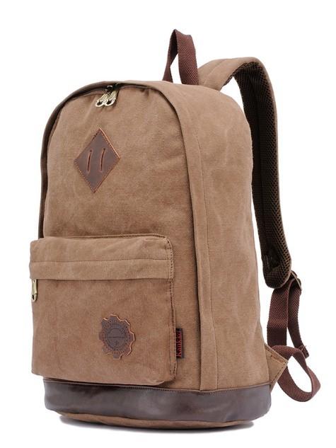 Canvas army knapsack, vintage canvas backpacks girls - BagsEarth