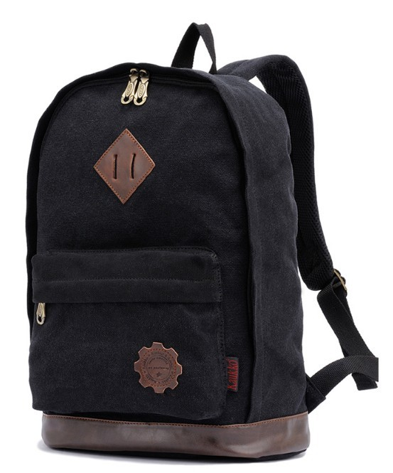 Canvas army knapsack, vintage canvas backpacks girls - BagsEarth