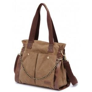 large canvas messenger bag for women