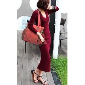 red messenger bag for women