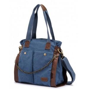 blue messenger bag for women