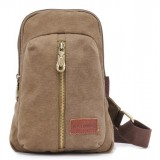 Backpack with one shoulder strap, cross body sling bag