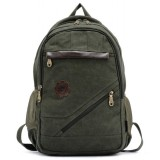 army green Canvas rucksack vintage