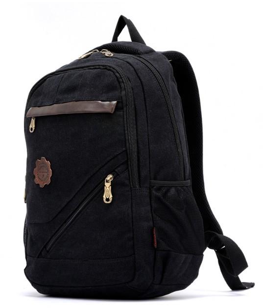Canvas rucksack vintage, canvas backpack men's - BagsEarth