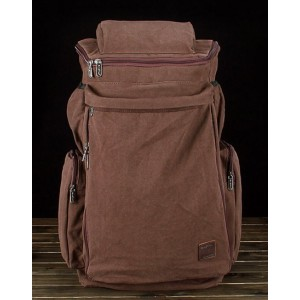 coffee Canvas rucksacks for men