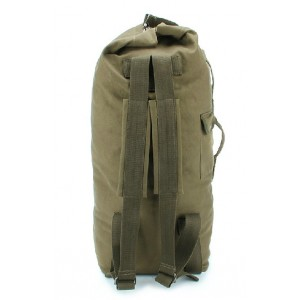 army green canvas rucksack large