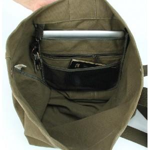 mens Canvas knapsack bag