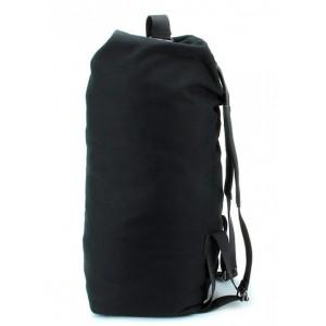 black Canvas knapsack bag