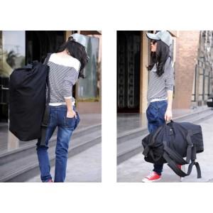 womens canvas rucksack large