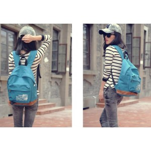 womens Canvas backpack purses