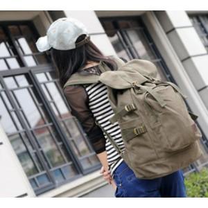 ladies Canvas rucksack backpack