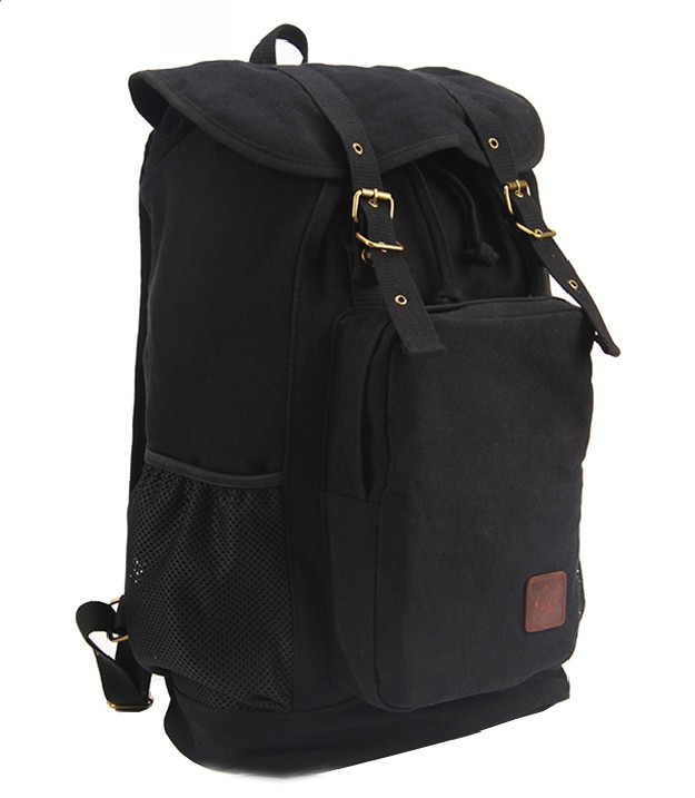 Canvas rucksack backpack, best laptop backpack for travel - BagsEarth