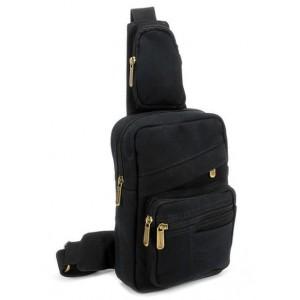black Backpack one strap