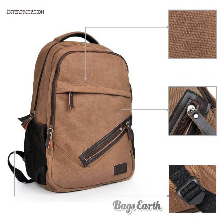 Laptop Computer Bag Canvas Bags For Men