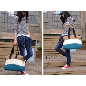 canvas shoulder bag for lady