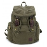 army green Canvas knapsack backpack