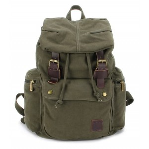 Canvas knapsack backpack, best laptop backpack