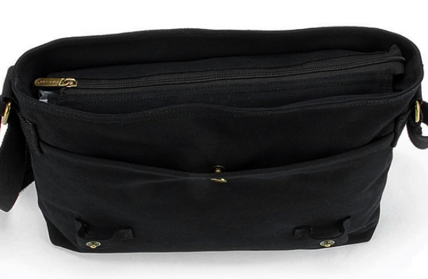 ... black IPAD canvas messenger bag for women · black canvas messenger bag  for school ... 07cee8837a