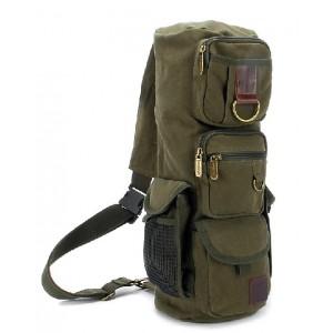 Vintage backpack, single strap backpack