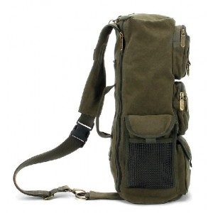 army green Vintage backpack